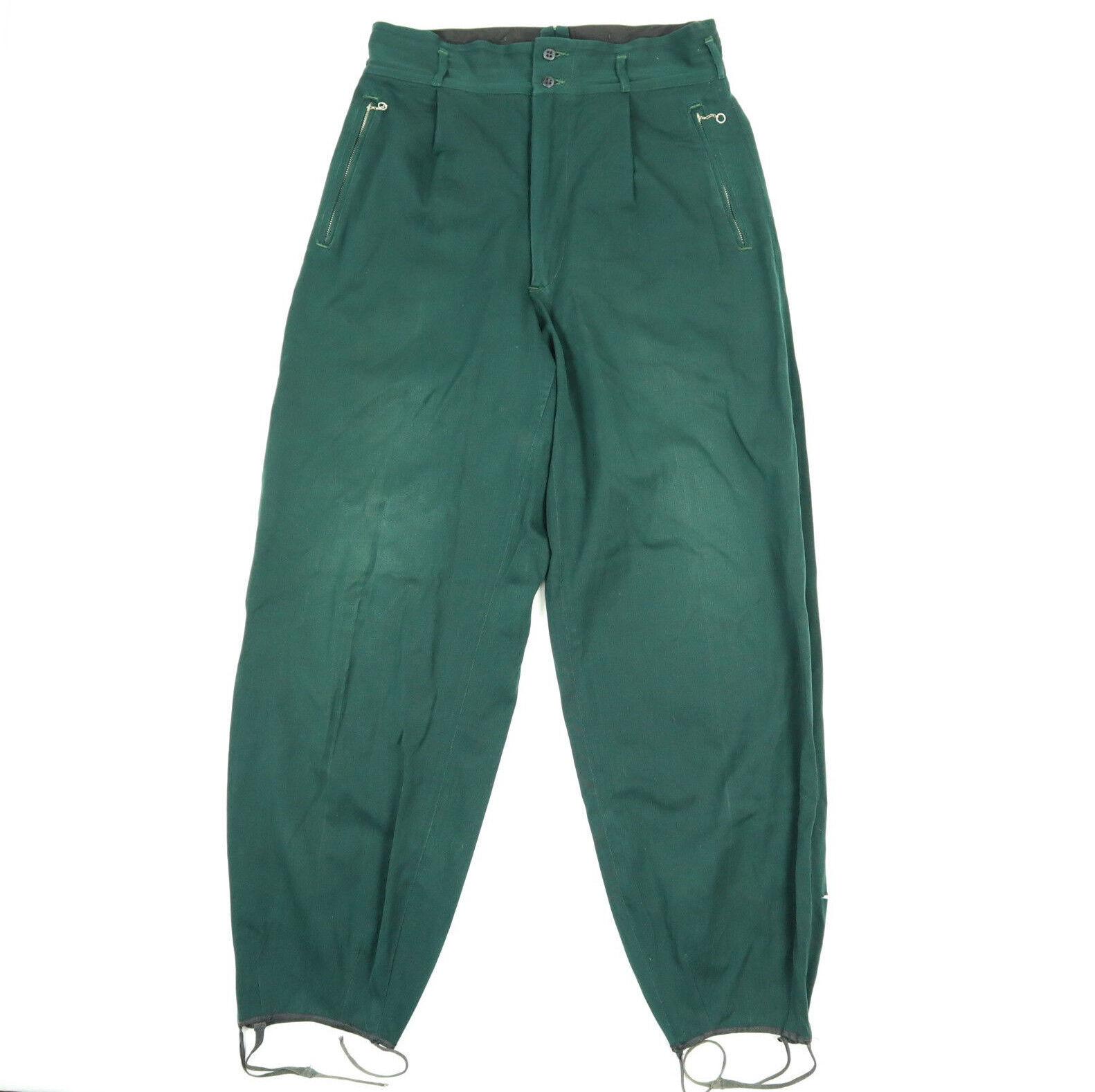 Vtg 40s 50s White Stag Ski Togs Pants size 31 x 31 Talon Zipper USA Made Pleated