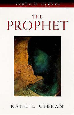 """AS NEW"" Gibran, Kahlil, The Prophet (Arkana), Paperback Book"