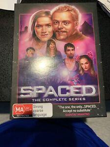 SPACED-The-Complete-Series-Boxset-DVD-Region-4-Rare