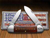 Case Xx 5th Commandment Chestnut Bone Canoe 1/500 Stainless Pocket Knives Knife on sale