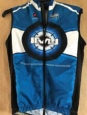"Pactimo men's M cycling jersey double zipper ""Coffees of Hawaii"" ""Xterra"" IMJ"