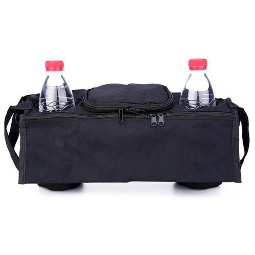 Baby Pram Stroller Pushchair Buggy Holder Storage Bag Cup Bottle Hold Practical