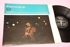 STAN-GETZ-QUARTET-LP-AU-GO-GO-ORIG-UK-1964-EX-TOOOOPPPP-JAZZ-AUDIOFILI