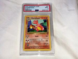 Pokemon-Game-PSA-9-MINT-Base-set-2-Charmeleon-35-Card-2000