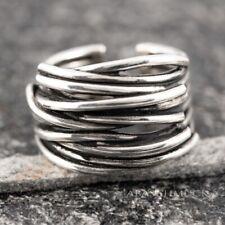 Silberring Silber 925 Ring  Verstellbar Offen R0639
