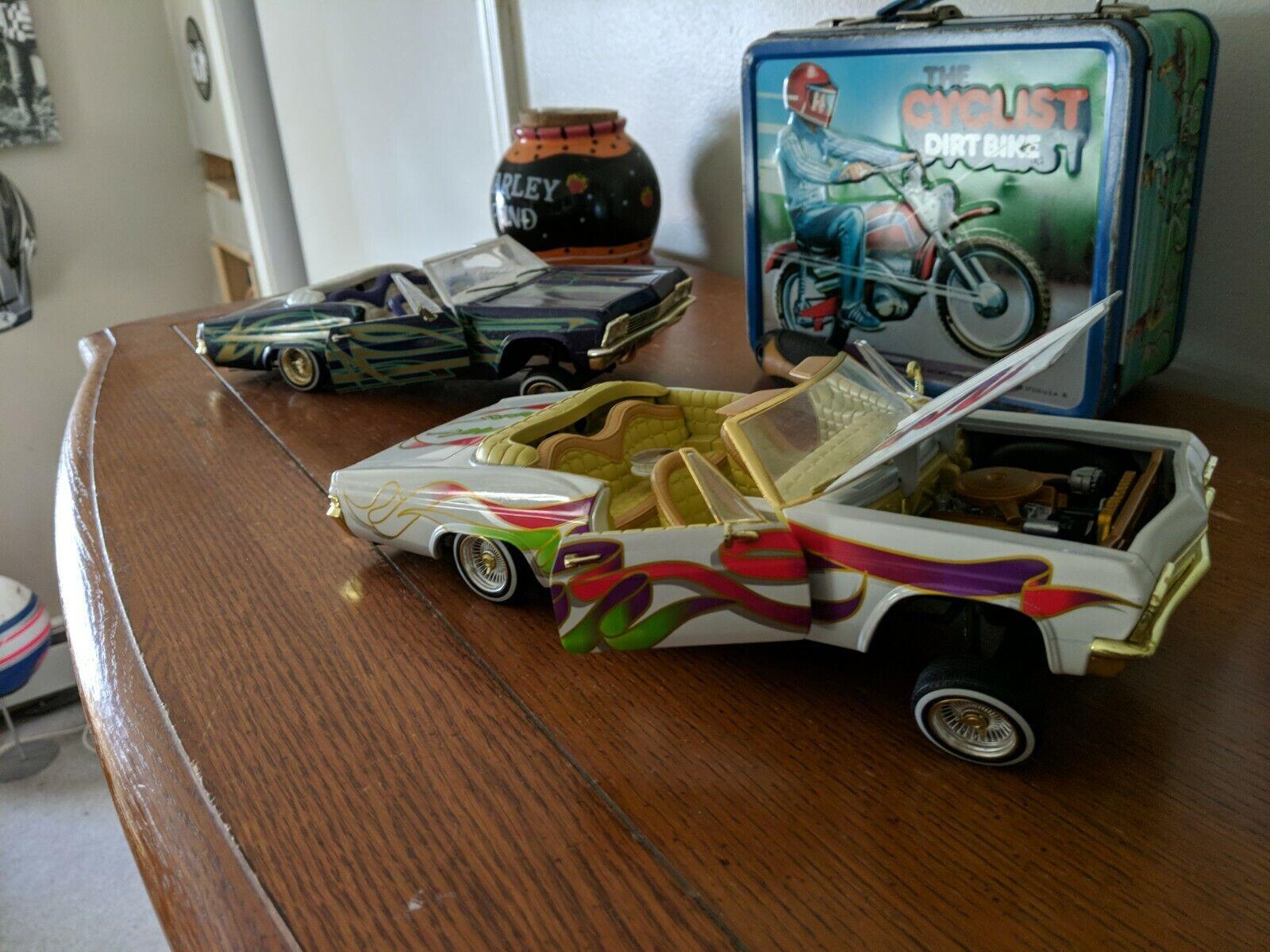 1 18 Hot Wheels 1965 Chevy Impala Lowrider Magazine coche