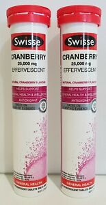Swisse-Cranberry-Effervescent-25000mg-40-Tablets-ANTIOXIDANT-Expired-03-2019