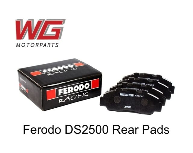 Ferodo DS2500 Rear Brake Pads for Audi A8 3.7 32V Quattro (1995 - 1998) FCP596H