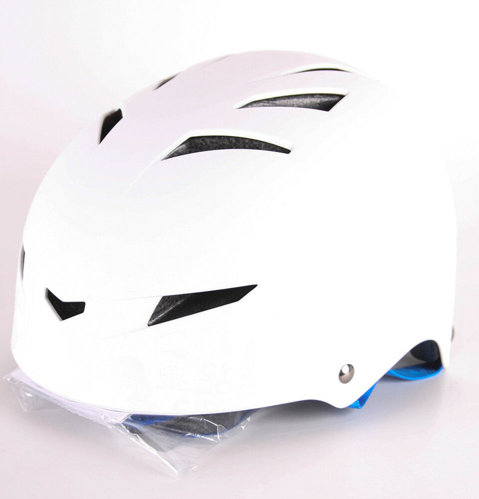 Giro Flak Bike Helmet (Matt White blueE S 51-55