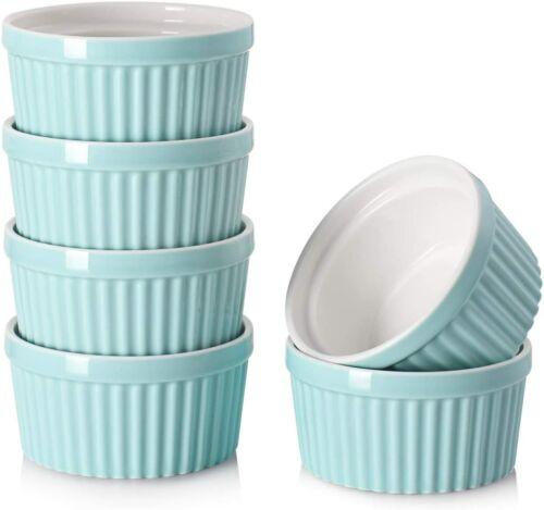 DOWAN 4 oz Ramekins Ramekins for Creme Brulee Porcelain