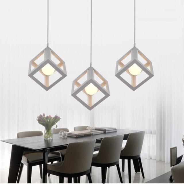 Modern Pendant Light Kitchen Chandelier Lighting Industrial White Ceiling Lights