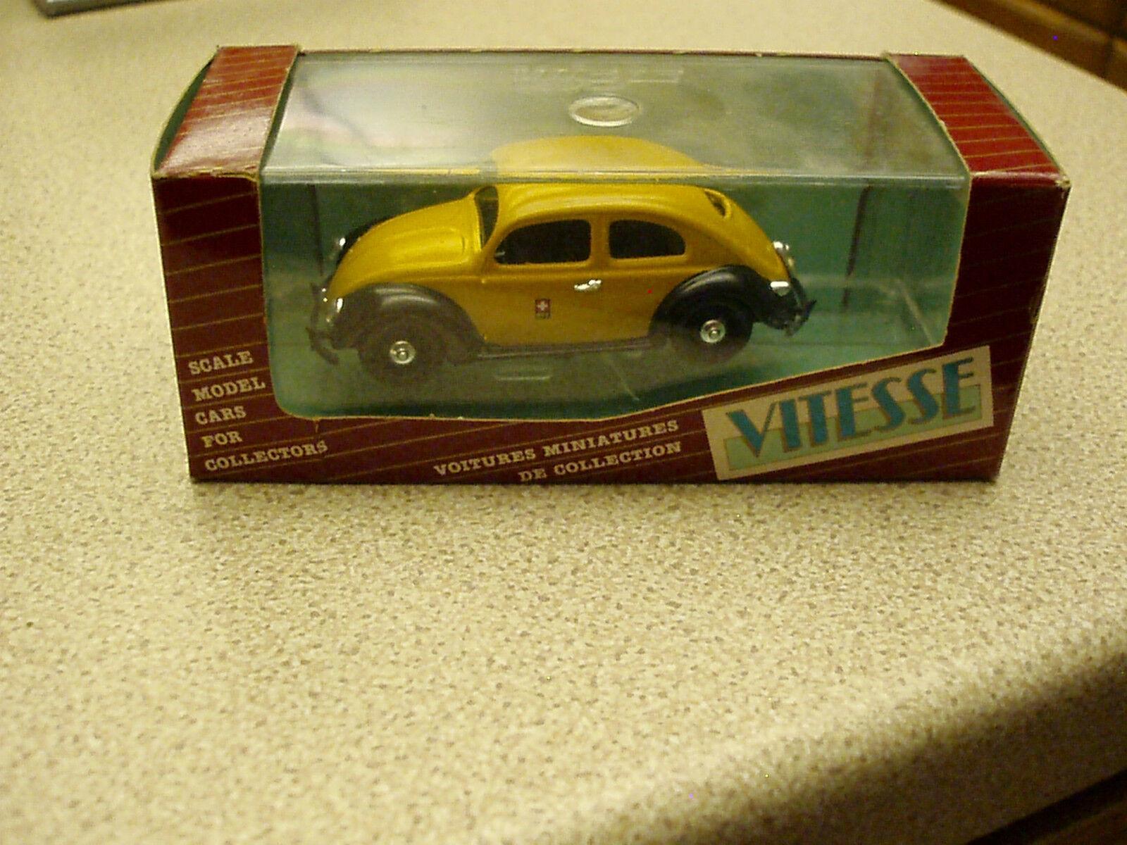 Vitesse  408.1 volkswagen 1949 Sedan  Postes Suisses  Untouched