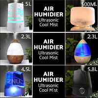 Beauty Woodgrain Aromatherapy Pure Essential Diffuser Air Nebulizer Humidifier