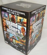 RARE GRAND THEFT AUTO V COLLECTORS PROMO STANDEE BOX GTA V 5 PS3 PS4 XBOX ONE PC