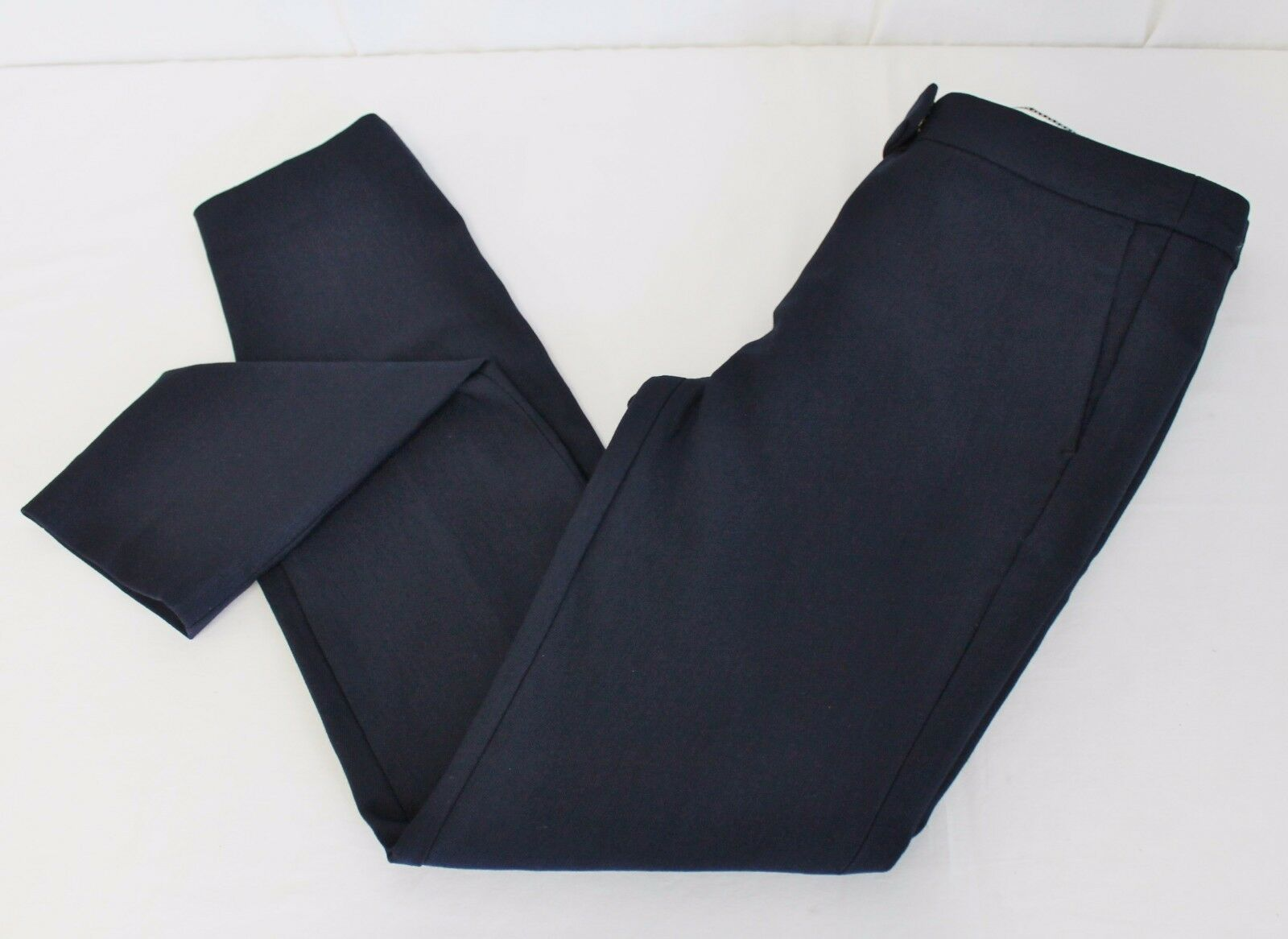 J CREW PETITE RYDER PANT STRETCH WITH SKINNY LEG NAVY SIZE 0 PETITE NEW C2759