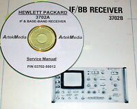 Hp Hewlett Packard 3710a If/bb Transmitter, Service Manual +schematics