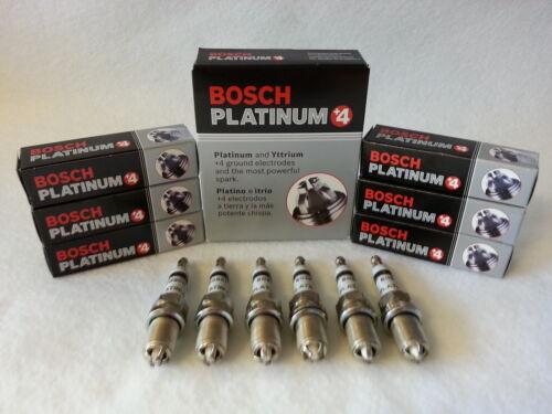 4 GERMANY PLATINUM+4 SPARK PLUG FGR7DQP 4417 BOSCH 6-PCS