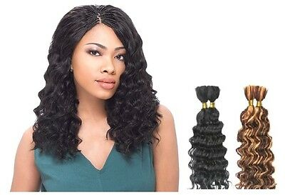 "Sensationnel Premium Too 100% Human Hair Deep Wave Bulk 14"" & 18"""