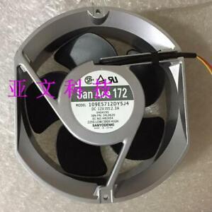 150 1pcs  SANYO 109E5724H502 24V 0.58A 172 51mm axial flow fan