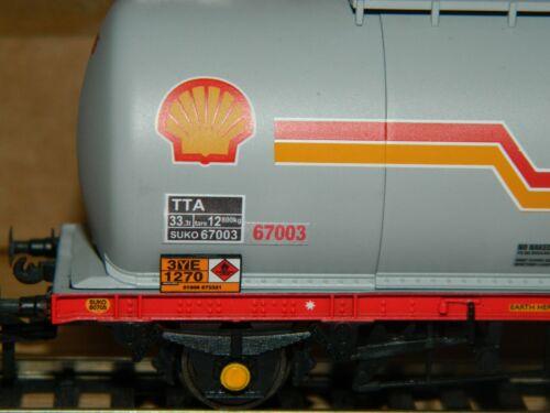 Alternative Numbers Decals for Bachmann Shell 4 wheel tank TTA wagon OO Gauge