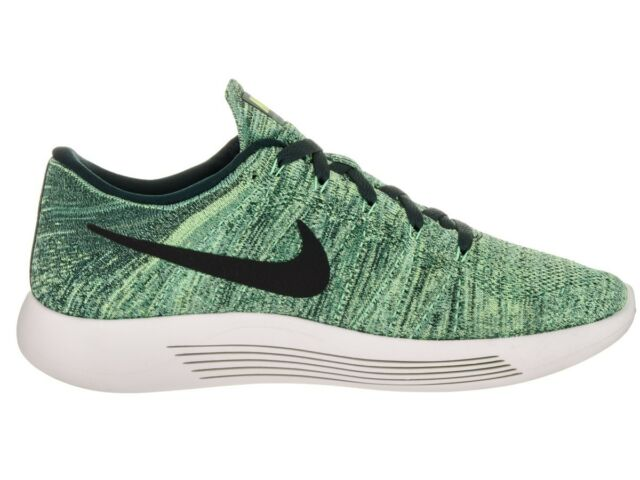 d36ee4a2974e Nike Lunarepic Low Flyknit Size 9.5 Green Seaweed Ghost Black ...