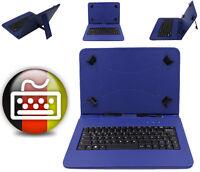 "Tablet Schutzhülle Tasche Tastatur 10.1"" Samsung Galaxy Tab A SM-T580/T585 Blau"