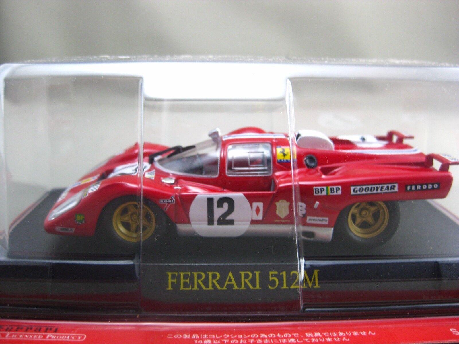 Ferrari 512M hachette 1 43 Diecast car Vol.64