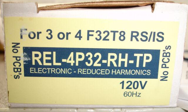 Advance Transformer Co REL-4P32-RH-TP Electronic Ballast 120V 60Hz .90 Amps