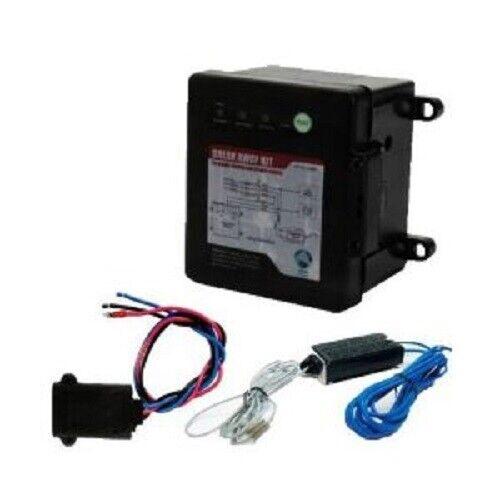 Switch /& Battery LED Test Electric Trailer Break Away Breakaway Kit w// Charger