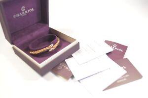 Charriol-04-06-00144M-Medium-Bronze-PVD-With-Rose-Tip-Celtic-Sceau-Bracelet