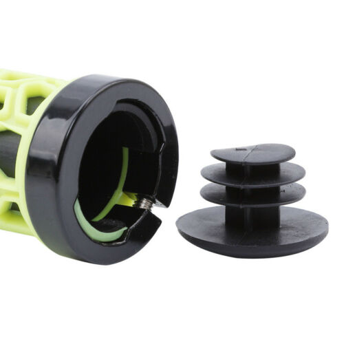 Double Lock-on Bicycle Handlebar Grips Fixed Gear Anti-Skid Rubber Grip L