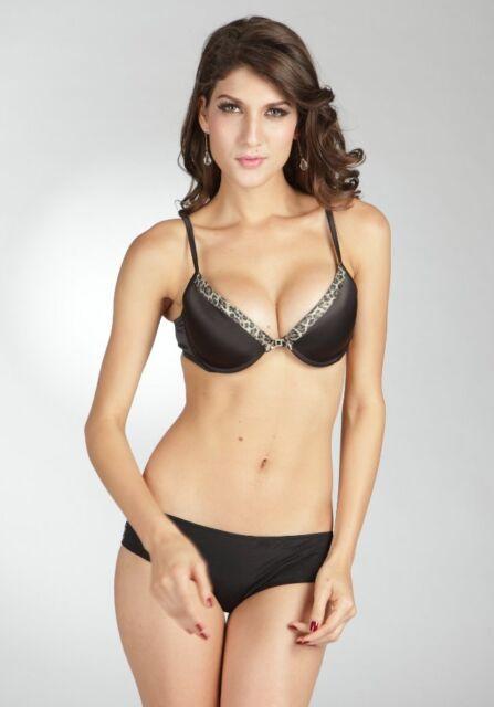 29e9ac32d2 Pierre Cardin Blu Nilo Contour Bra Only Black Size 14B