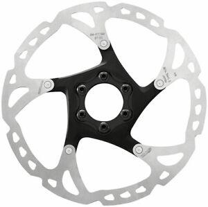 Shimano-SLX-SM-RT76-M-Disc-Brake-Rotor-180mm-6-Bolt-Silver-Black