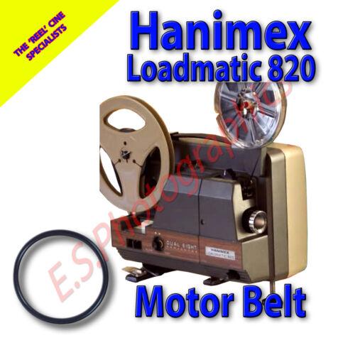 Hanimex Loadmatic 820 Motor Correa para proyector de cine de 8mm