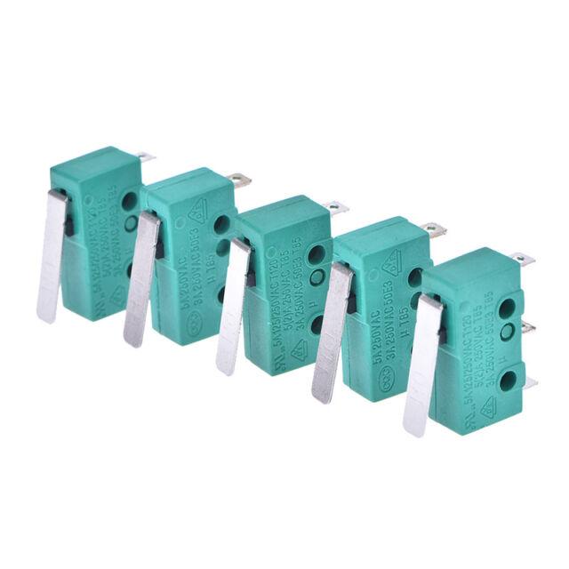 5pcs micro limit switch long lever arm subminiature kw4-3z-3 snap action  S1