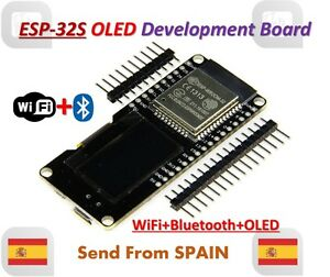 Details about Lolin ESP32 OLED WeMOS Module WiFi+Bluetooth ESP-WROOM-32  ESP-32 ESP-32S