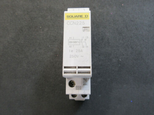 25a 2 pole Contactor CCN225 Schnider Merlin Gerin Square D