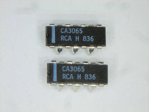 "CA3065  /""Original/"" RCA  14P DIP//ZIP  IC  2  pcs"