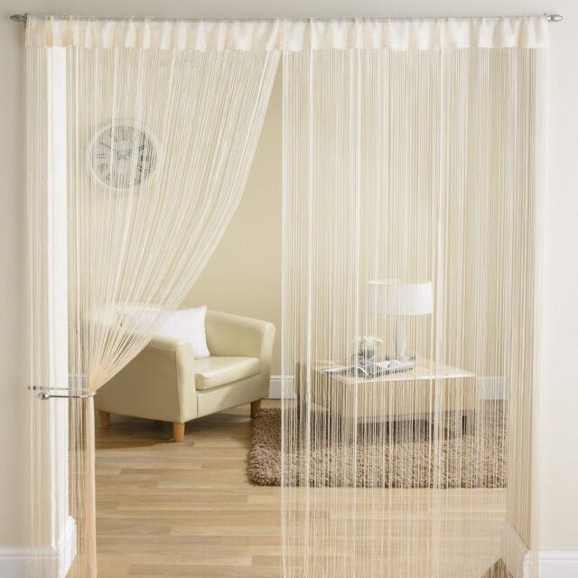 NUOVA stringa di lusso Pannello Divisore Stanza finestra porta di facciata continua 90x200cm-ORO