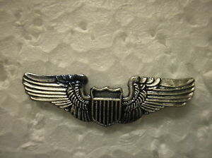 MILITARY-HAT-PIN-U-S-AIR-FORCE-PILOT-WINGS
