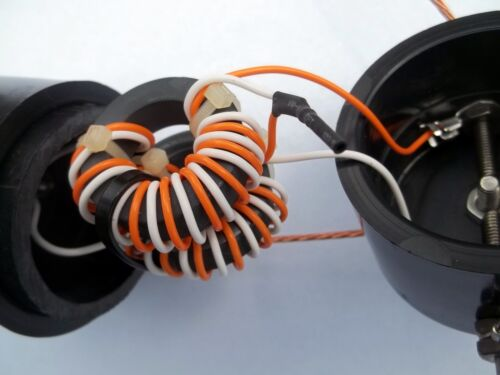BC41 Folded dipole Balun 4:1 OCF 200 to 50 Ohms 1000W, Current Type