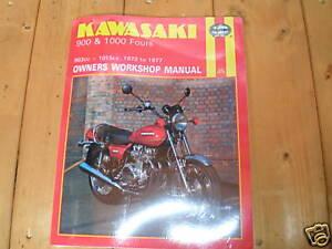 Atelier-Manuel-pour-Kawasaki-Z1000-A1-A2-1977-1978-Anglais-Langue-Version