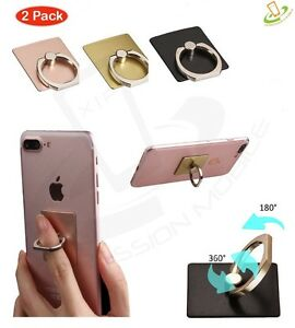 2X-Finger-Ring-Kickstand-Stand-Holder-For-iPhone-Samsung-Galaxy-Universal-Phone