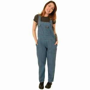 Run and Fly Baggy Corduroy Dungarees Teal Blue Green Jumpsuit 8 10 12 14 16
