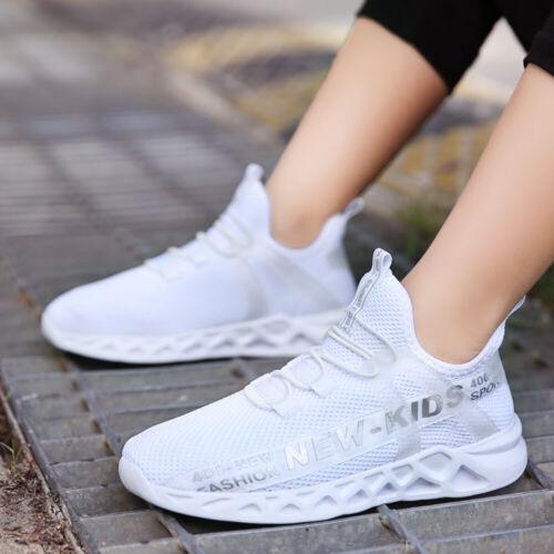Kids Sneakers Boys Girls Outdoor Walking Jogging Shoes Casual Sports Running
