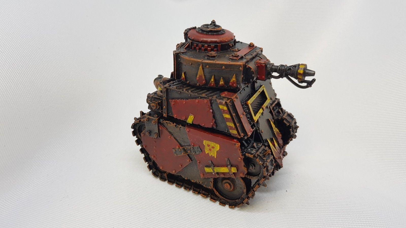 Warhammer 40k - Forgeworld - Orks - Gred Tank- Painted c