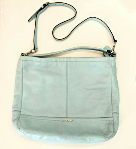 COACH Bucket Bag LIGHT BLUE TURQUOISE