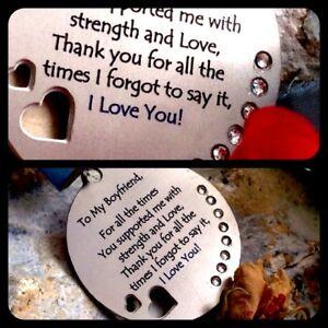Gifts For Him Mens Her Valentines Day Womens Love Romantic Boyfriend Keepsake 88 Ebay