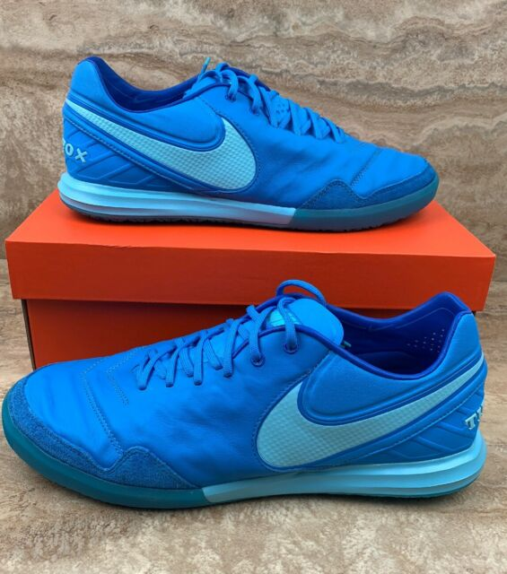 Discurso Motivación afeitado  Nike Tiempox Proximo TF Soccer Turf Shoes Cleats Light Glow Blue Men's 10  for sale online | eBay