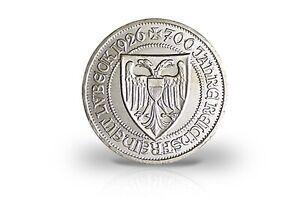 3-Reichsmark-1926-Weimar-700-Anos-Reichsfreiheit-Lubeck-Jaeger-Nr-323